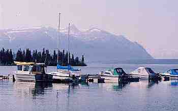 Harbour at Atlin