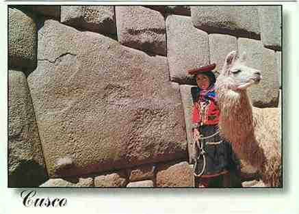 Cusco postcard