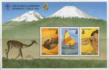 Chilean stamp
